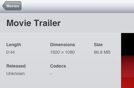 Apple iOS 5.0 porterà anche il supporto ai video fullHD 1080p