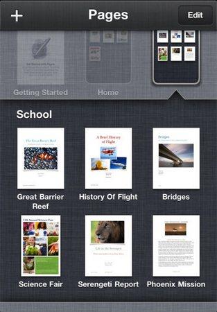 iWork Mobile 1.4 disponibile nell'App Store per iPad e iPhone