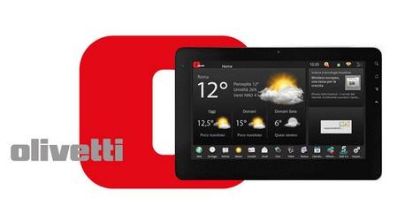 Olivetti Olipad 110, nuova versione del tablet con Android 3.1 Honeycomb