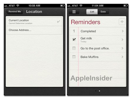 Apple iOS 5.0, cos'è e come funziona Reminders