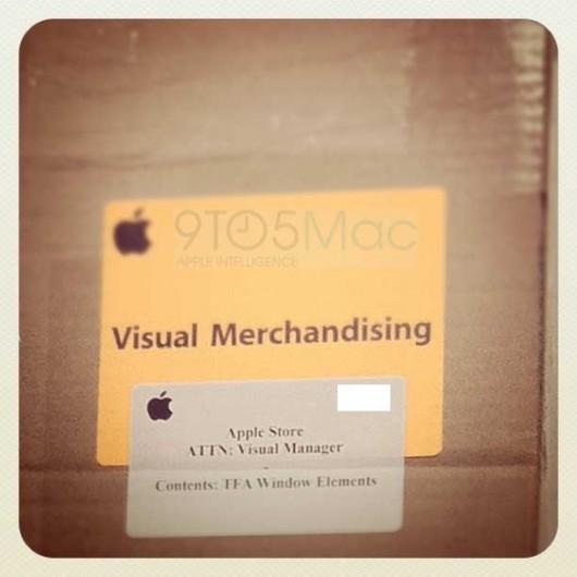 Gli Apple Store ricevono nuovo materiale pubblicitario segreto