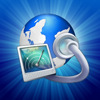 Super Prober Web Browser - Page Thumbnail FullScreen Browse Fast Desktop Tabs per iPad