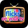 Flickr on your TV per iPad