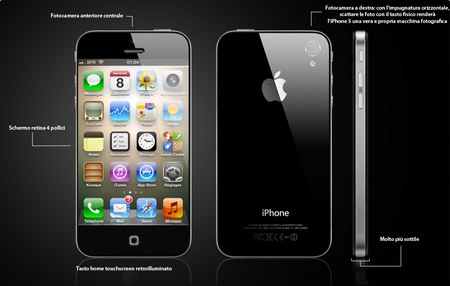 Apple iPhone 5 in una nuova immagine di mockup