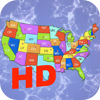 Advanced Puzzle Map Of USA HD per iPad