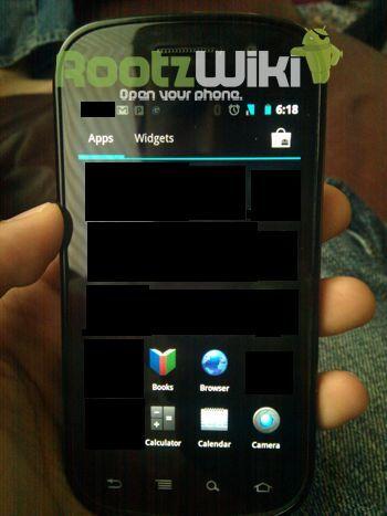Prime immagini di Android 4.0 Ice Cream Sandwich
