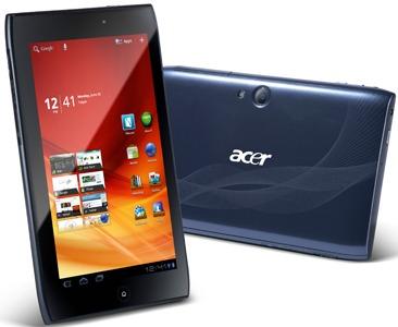 Acer Iconia Tab A100 arriva a settembre a 299 euro