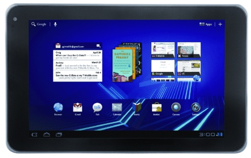 LG Optimus Pad riceve l'aggiornamento ad Android 3.1 Honeycomb
