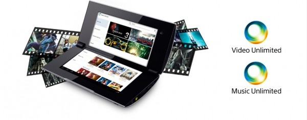 Sony Music e Video Unlimited su Sony Tablet