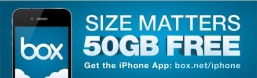 L'applicazione di Box.net per iPad offre 50 GB gratuiti per sempre