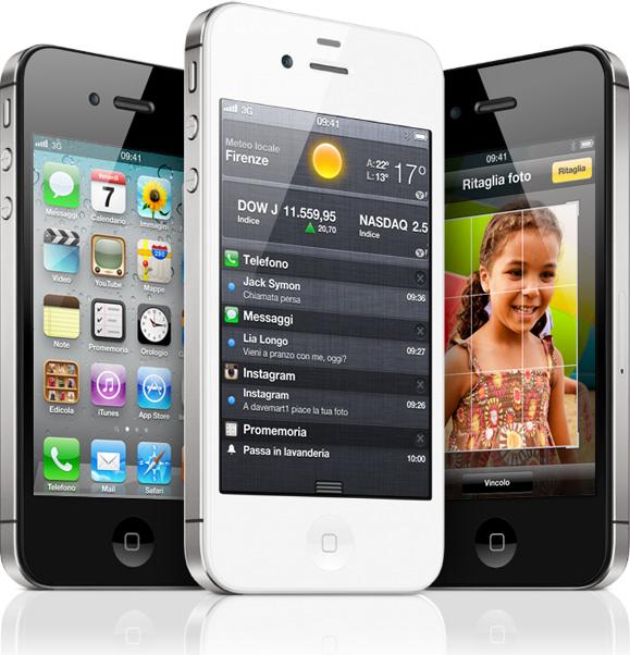 Apple iPhone 4S disponibile in Italia, a partire da 659 euro