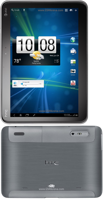 HTC Jetstream, potente tablet PC dotato di Android 3.1 Honeycomb
