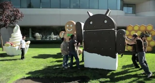 Google presenta ufficialmente Android 4.0 Ice Cream Sandwich