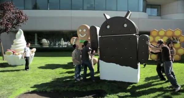 Google presenta ufficialmente Android 4.0 Ice Cream Sandwich