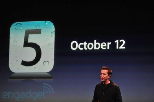 Apple iOS 5.0, la versione finale arriva il 12 Ottobre