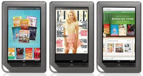 Nook Tablet ufficiale, inizia la sfida con l'Amazon Kindle Fire