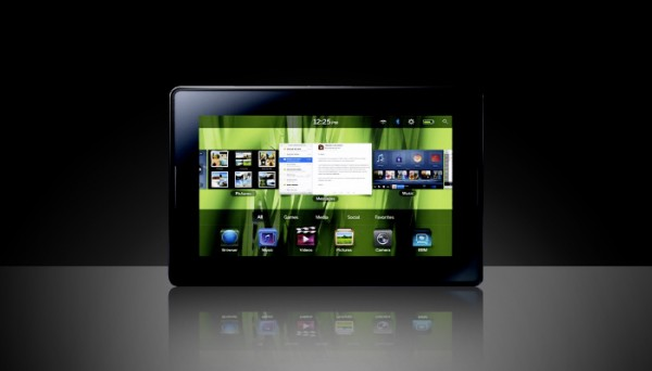 Blackberry Playbook, disponibile nuovo aggiornamento del firmware