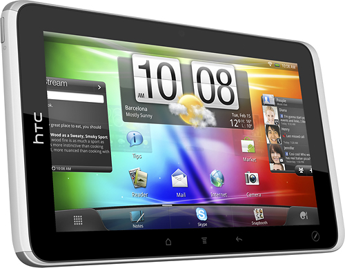 HTC Flyer, finalmente disponibile l'aggiornamento ad Android 3.2 Honeycomb