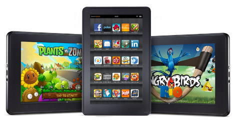 Amazon Kindle fire arriva il firmware personalizzato Cyanogenmod 7
