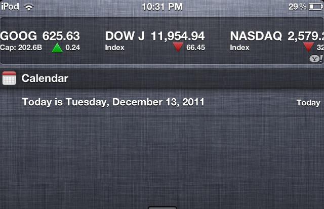 Come fare per aggiungere la data nel Centro Notifiche di iOS 5.0 [GUIDA]