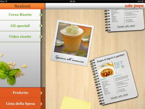 """Il magazine sulla cucina Mondadori """"Sale & Pepe"""" arriva su iPad"""
