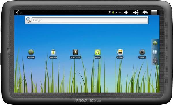 Archos Arnova 10b G2 e Arnova 7b G2: due nuovi tablet Android