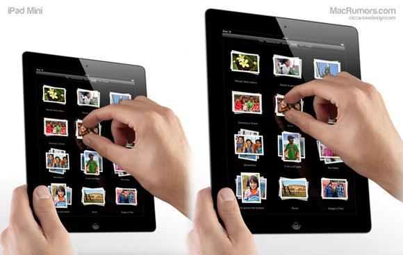 Apple iPad Mini: ecco le immagini mockup pronte da stampare
