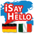 ISayHello Tedesco - Italiano per iPad