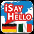 ISayHello Tedesco - Italiano per iPad