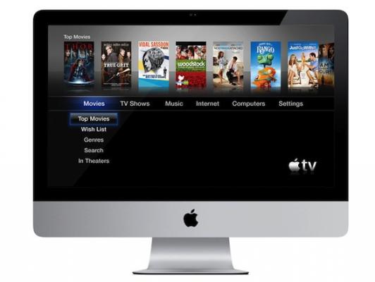 Apple iTV forse integrata nei futuri modelli di iMac