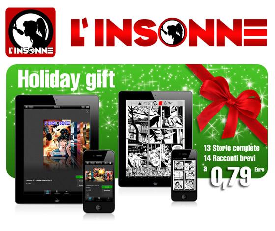 L'insonne, nuova offerta natalizia nell'App Store