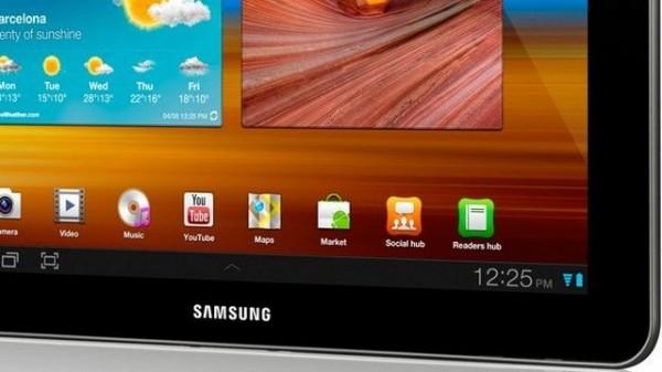 Samsung Galaxy Tab 11.6 potrebbe essere in via di sviluppo