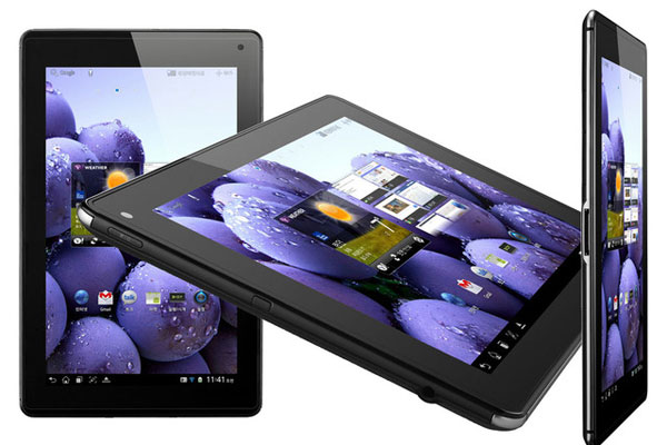 LG Optimus Pad LTE, nuovo tablet con Android 3.2 Honeycomb