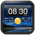 Nightstand Central for iPad - Music Alarm Clock with Weather and Photos per iPad