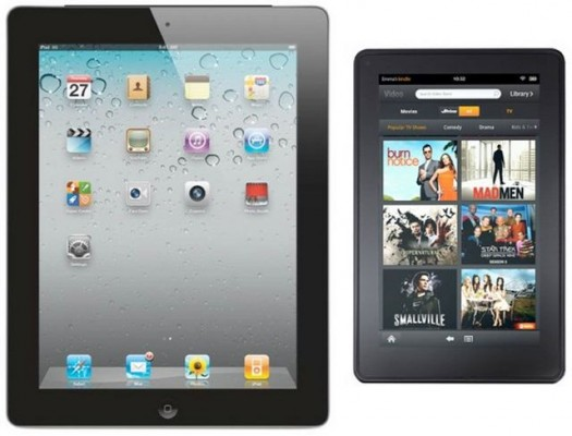 Apple non si sente minacciata dall'Amazon Kindle Fire