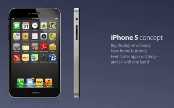 Apple iPhone 5, nuovo concept per il futuro melafonino