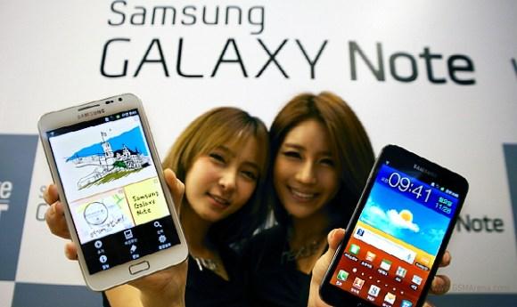 Samsung Galaxy Note, vendite molto buone in Corea del Sud