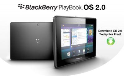 BlackBerry PlayBook OS 2.0 disponibile per il download