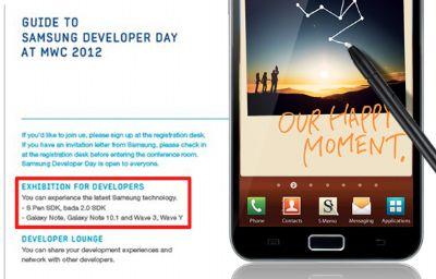 Samsung Galaxy Note, in sviluppo versione da 10.1 pollici