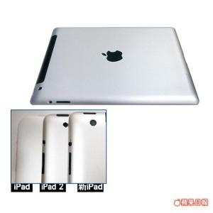 Il nuovo iPad potrebbe avere la fotocamera posteriore da 8 Megapixel