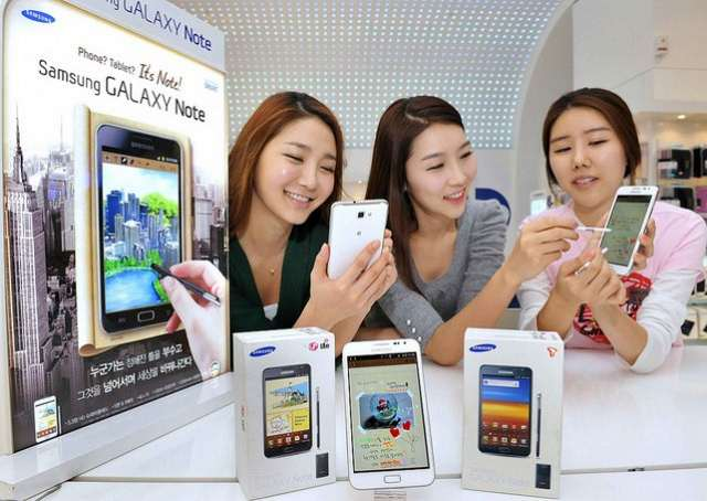 Samsung Galaxy Note bianco disponibile da metà febbraio