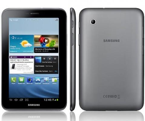 Samsung annuncia ufficialmente il nuovo Galaxy Tab 2 da 7 pollici