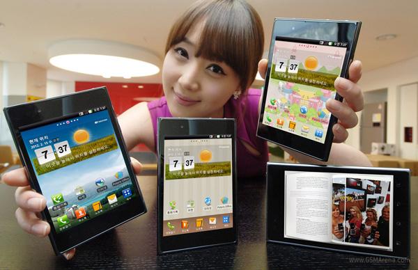 LG annuncia ufficialmente il nuovo Optimus Vu da 5 pollici