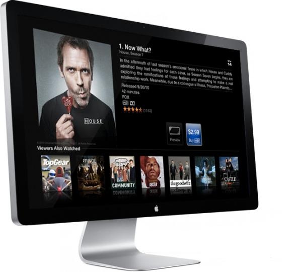 Apple iTV potrebbe conquistare il 5 per cento del mercato