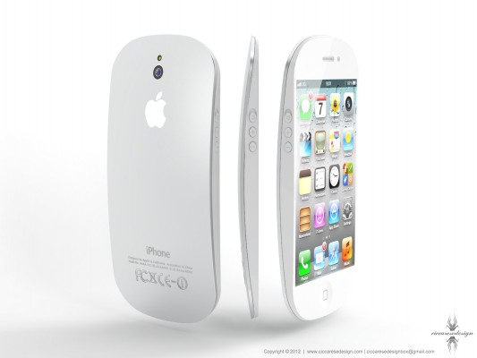 Apple iPhone 5: nuovo concept ispirato al design del Magic Mouse