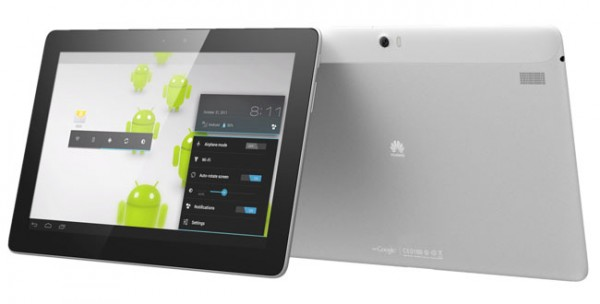 MWC 2012: Huawei annuncia il nuovo tablet quad core MediaPad 10 FHD