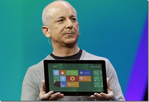 I primi tablet Intel con Windows 8 potrebbe costare 599 dollari