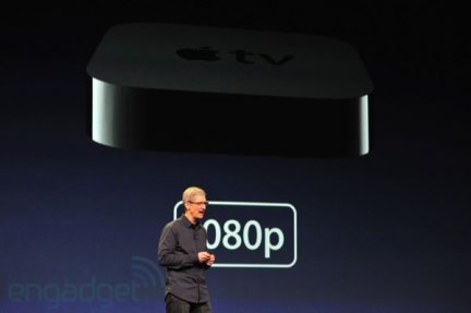 Apple keynote: confermata la nuova Apple TV con supporto video 1080p