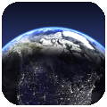Living Earth HD - World Clock and Weather per iPad