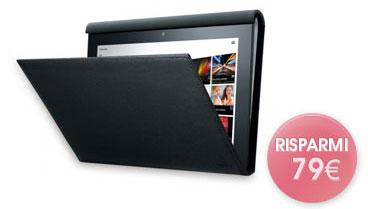 Sony Tablet S: custodia in pelle in regalo fino al 30 aprile